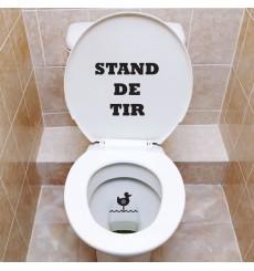 Sticker WC Stand de tir