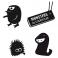 Sticker Pack monstres 2 - stickers monstre & stickers muraux - fanastick.com