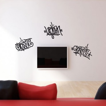 Sticker Urban graffiti - stickers graffiti & stickers muraux - fanastick.com