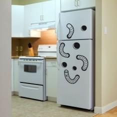 Sticker Ver dans le frigo