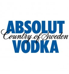 Sticker Absolut Vodka