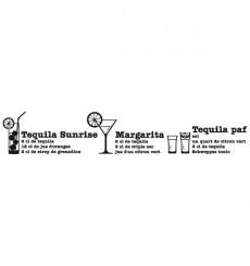 Sticker Cocktails téquila