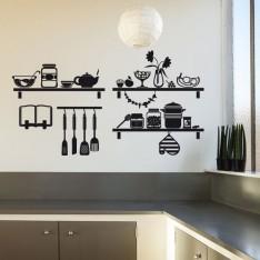 Sticker Etagères cuisine 2