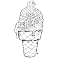 Sticker Ice cream - stickers frigo & stickers muraux - fanastick.com