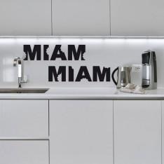 Sticker Miam miam à croquer