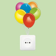Sticker Prise ballons