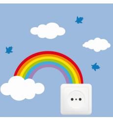 Sticker Prise dans les nuages