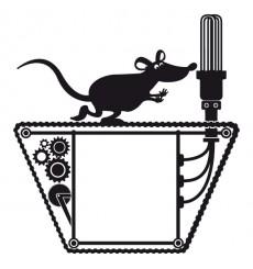 Sticker Prise mécanisme souris