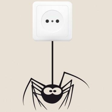 Sticker Prise araignée - stickers prise & stickers muraux - fanastick.com