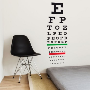 Sticker Bonne vue - stickers design & stickers muraux - fanastick.com