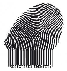 Sticker Empreinte d'indentité