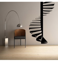 Sticker Escalier colimaçon