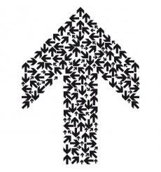 Sticker Multi-flèches