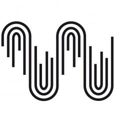 Sticker Vagues géométriques