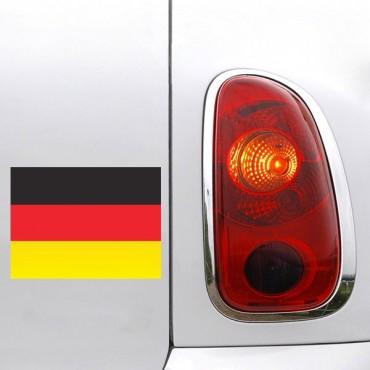 Sticker Drapeau Allemagne - stickers drapeaux & stickers muraux - fanastick.com