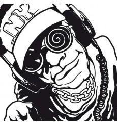 Sticker DJ New-Yorkais