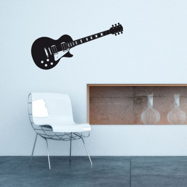 Sticker Guitare électrique Gibson - stickers musique & stickers muraux - fanastick.com