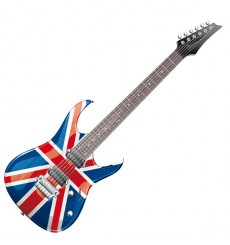 Sticker Guitare UK