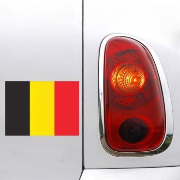 Sticker Drapeau Belgique - stickers drapeaux & stickers muraux - fanastick.com