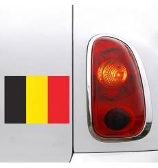 Sticker Drapeau Belgique
