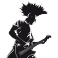 Sticker Punk - stickers musique & stickers muraux - fanastick.com