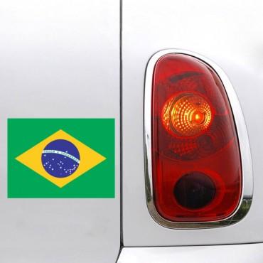 Sticker Drapeau Brésil - stickers drapeaux & stickers muraux - fanastick.com