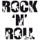 Sticker Rock 'n' roll - stickers musique & stickers muraux - fanastick.com