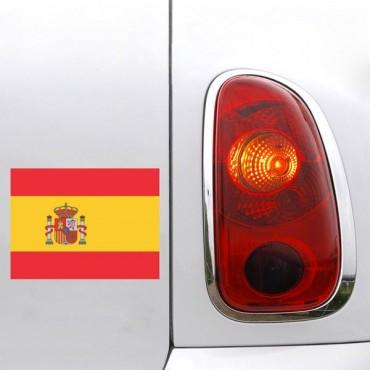 Sticker Drapeau Espagne - stickers drapeaux & stickers muraux - fanastick.com