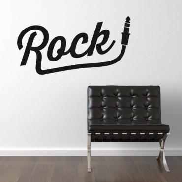 Sticker Rock prise jack - stickers citations & stickers muraux - fanastick.com
