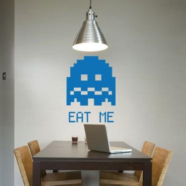 Sticker Eat me - stickers citations & stickers muraux - fanastick.com