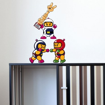 Sticker Bomberman - stickers jeux & stickers enfant - fanastick.com