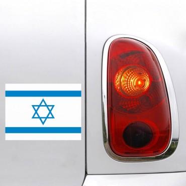 Sticker Drapeau Israel - stickers drapeaux & stickers muraux - fanastick.com