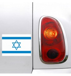 Sticker Drapeau Israel