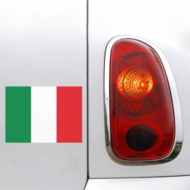 Sticker Drapeau Italie - stickers drapeaux & stickers muraux - fanastick.com