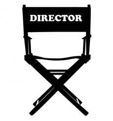 Sticker Chaise réalisateur