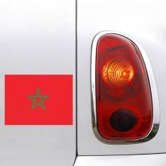 Sticker Drapeau Maroc