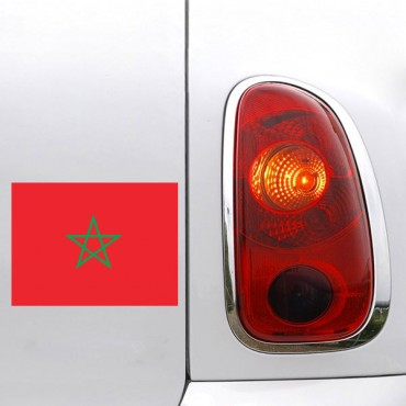 Sticker Drapeau Maroc - stickers drapeaux & stickers muraux - fanastick.com
