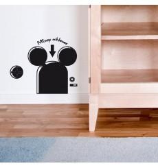 Sticker Mickey Mhouse