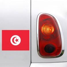 Sticker Drapeau Tunisie