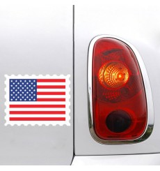 Sticker Drapeau USA