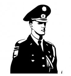 Sticker Policier