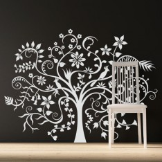 Sticker Arbre fantastique