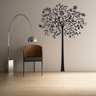 Sticker Arbre fantastique long - stickers arbre & stickers muraux - fanastick.com