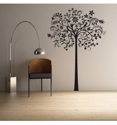 Sticker Arbre fantastique long