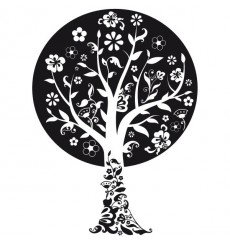 Sticker Arbre féerique