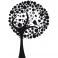 Sticker Arbre feuilles - stickers arbre & stickers muraux - fanastick.com