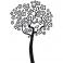 Sticker Arbre fleuri - stickers arbre & stickers muraux - fanastick.com