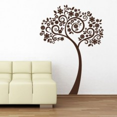 Sticker Arbre moderne