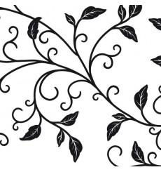 Sticker Branche arabesque