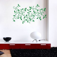 Sticker Branche arabesque
